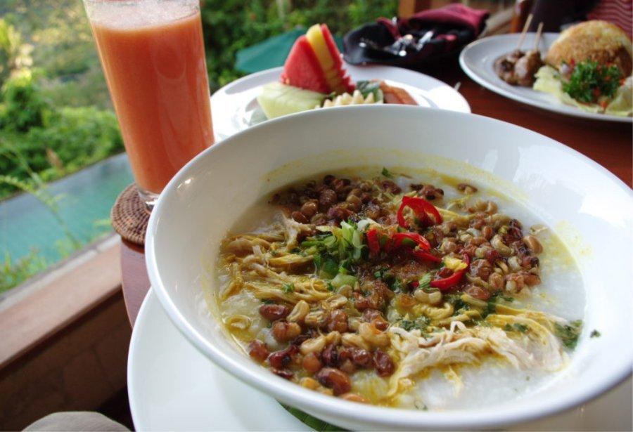 Bubur ayam khas jakarta kuliner Bali