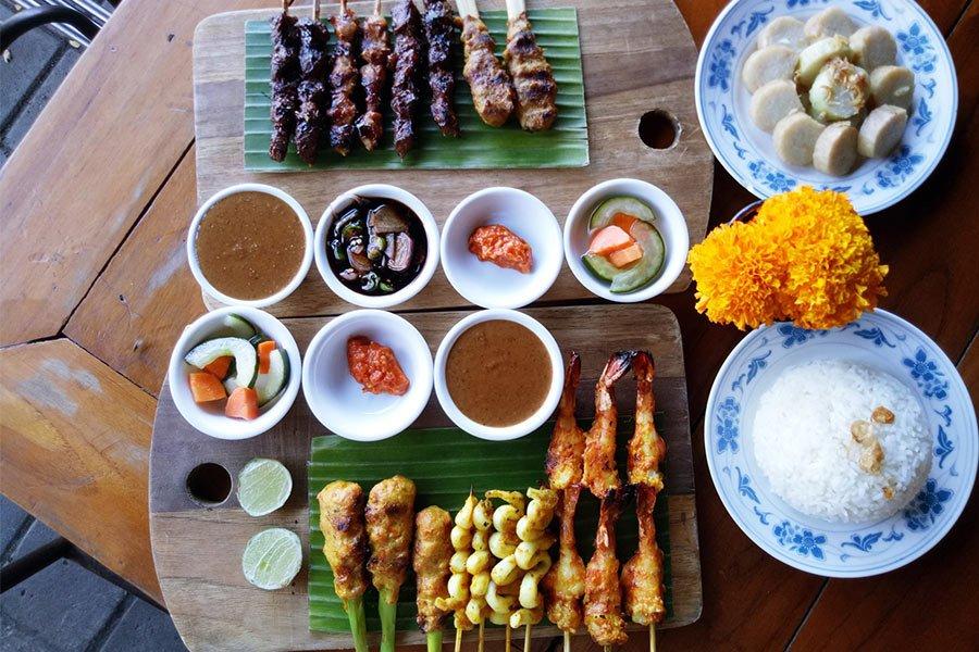 Gourmet sate house kuliner Bali