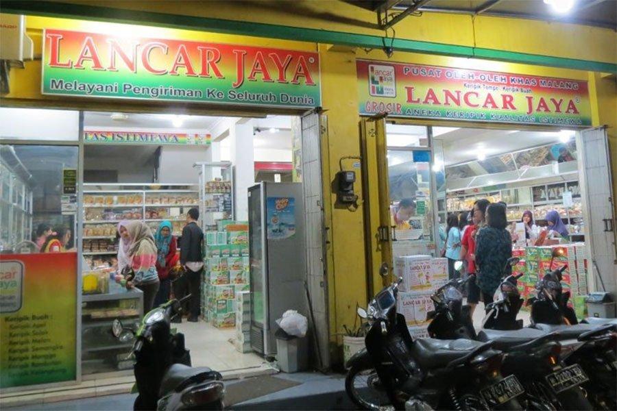 Keripik Tempe Lancar Jaya Kota Malang