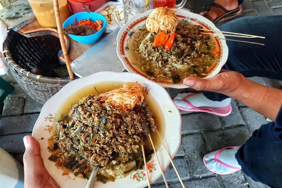 Kupang Lontong khas Surabaya