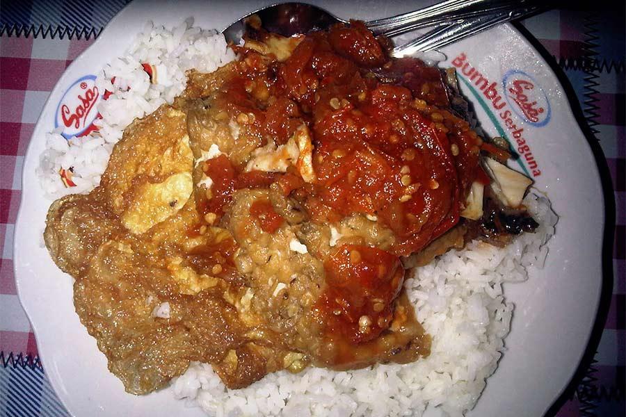 Nasi Sambal  khas Surabaya