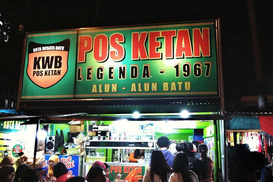 Pos Ketan Legenda Malang