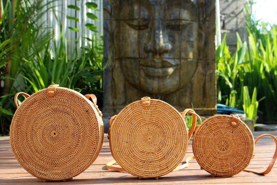 Tas Rotan khas Bali