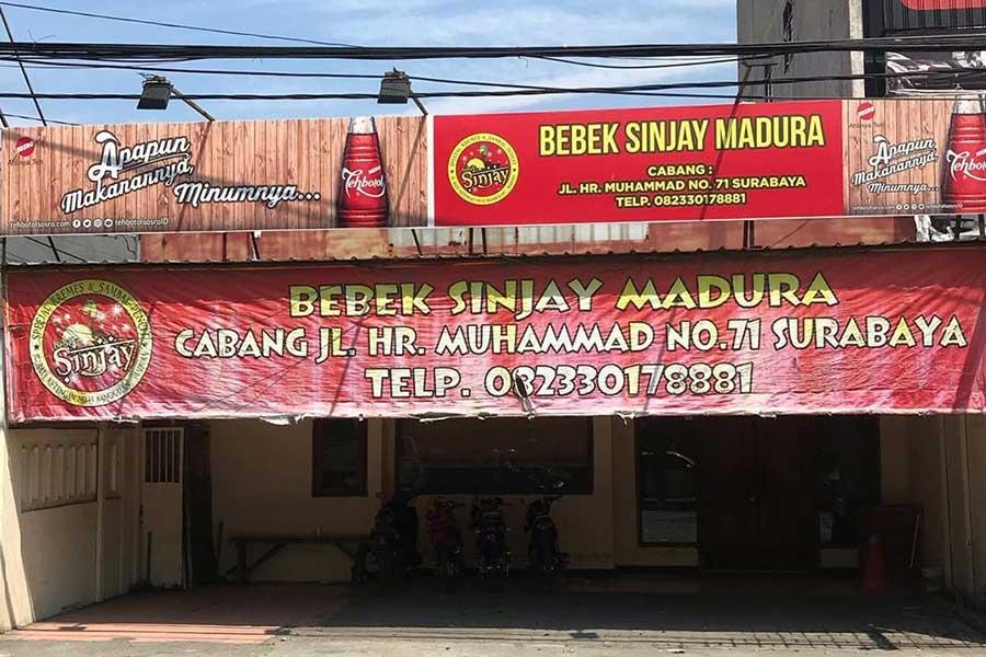 Bebek Goreng Sinjay Surabaya