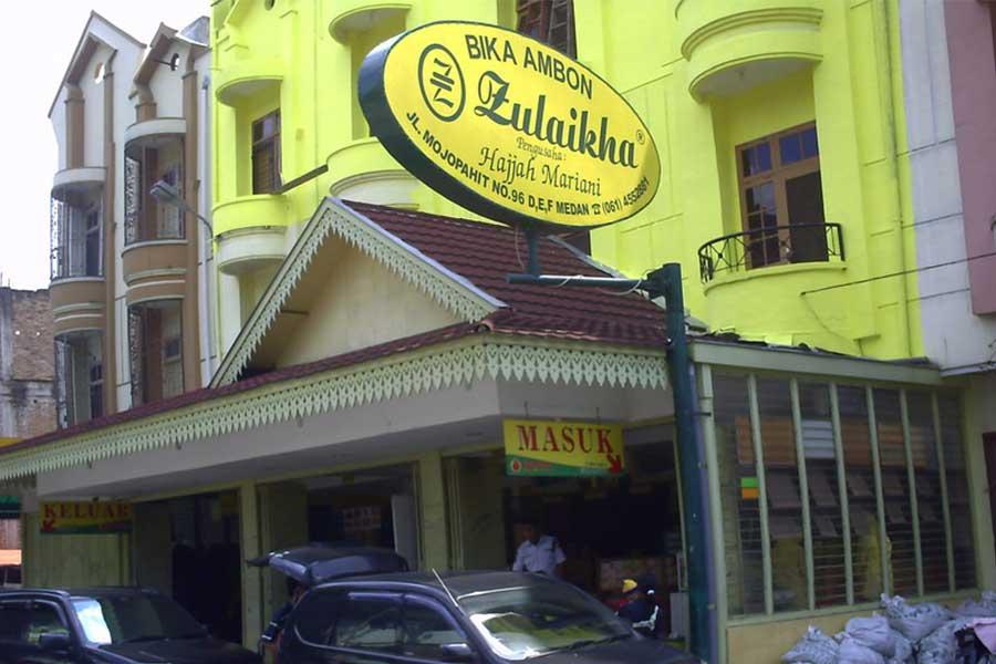 Bika Ambon Zulaikha Medan