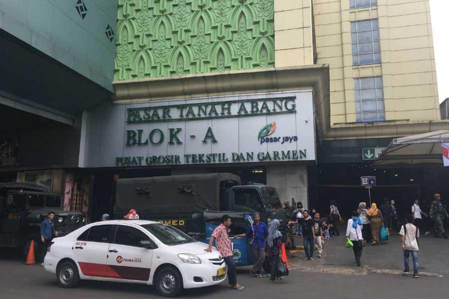 Pasar Tanah Abang Jakarta
