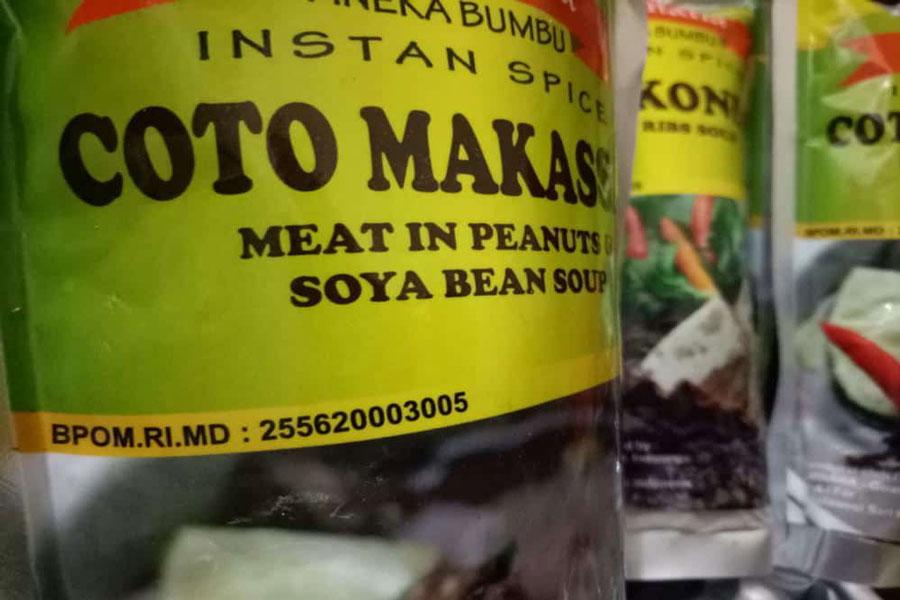 Coto Makassar Instant