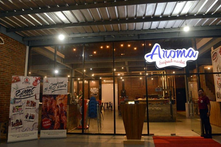 Aroma Seafood Market Pekanbaru