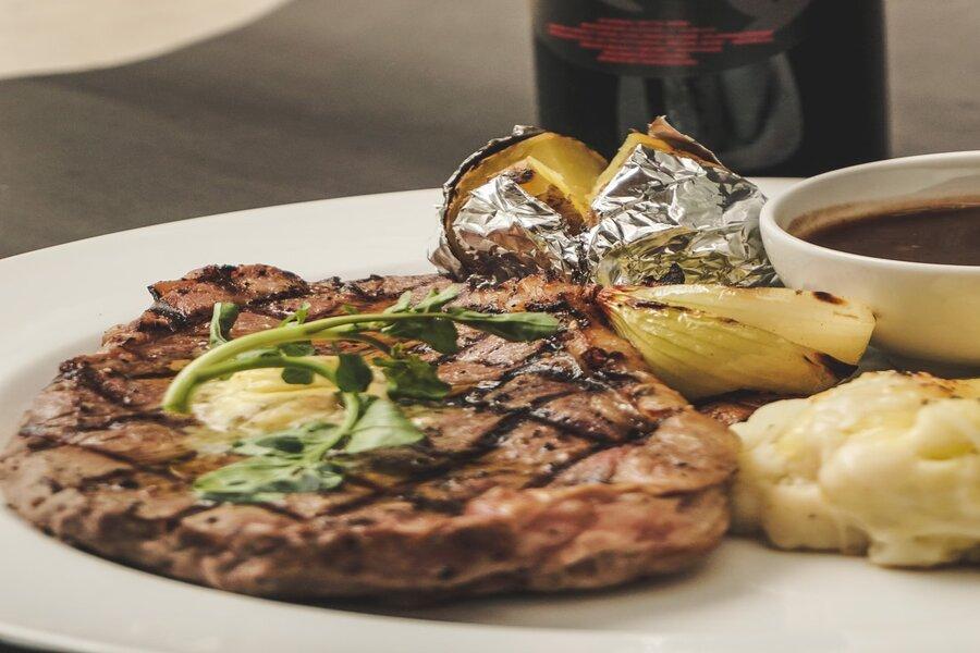 Steak Saus Jamur