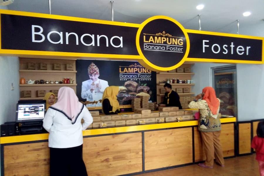 Lampung Banana Foster