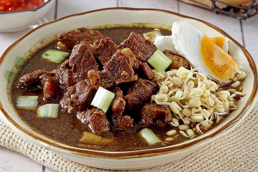 menu buka puasa rawon daging