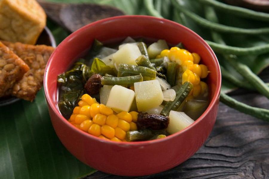 menu buka puasa sayur asem